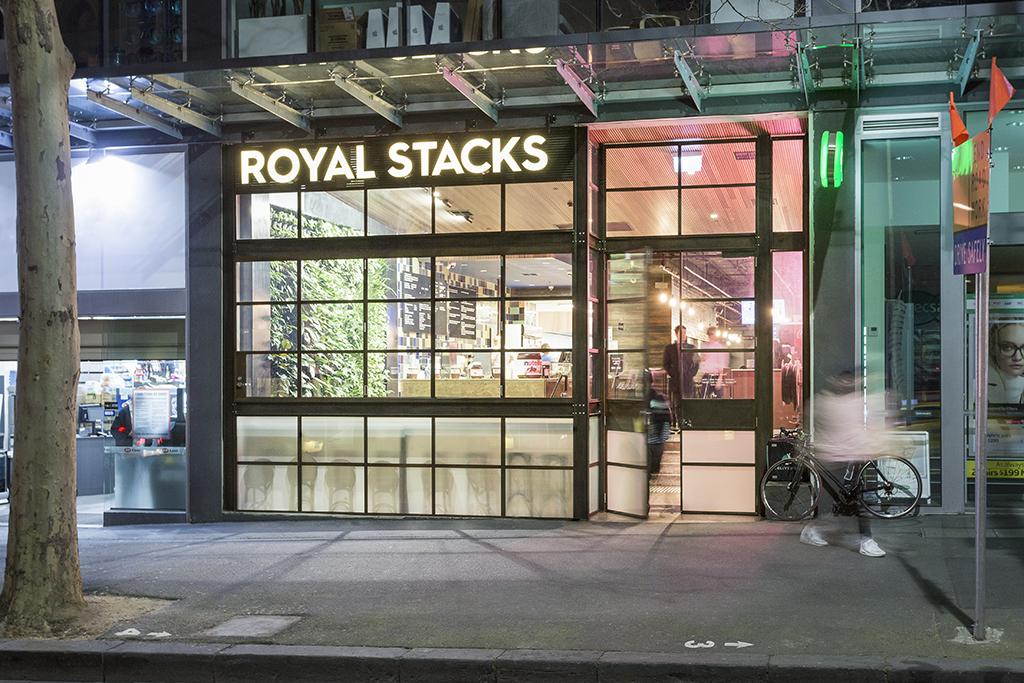 Royal Stacks, Melbourne CBD - Steel Windows Australia